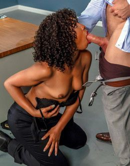 Famous black chick Misty Stone fuck..
