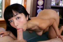 Tempting asian babe Marica Hase gets..