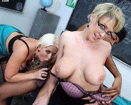 Two big ass mature teachers Alura..