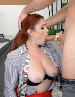 Plump redhead babe Lennox Luxe know..