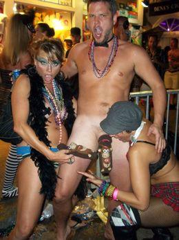 Key west festival, some amazing nude..