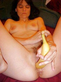 Chic grandmother masturbate