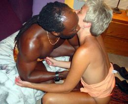 Rough interracial sex pics with..