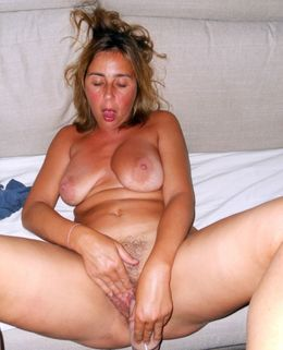 Crazy for orgasm matures masturbating..
