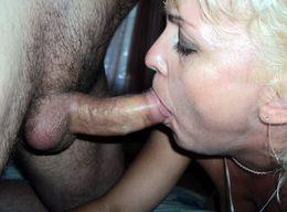 Nice blow job from mature girlfriends,..
