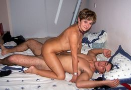 Russian swingers, two old housewife..