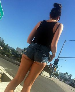 Voyeur and upskirt photos from casual..