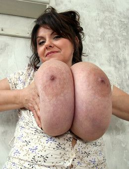 Owner of a huge breast Milena Velba..