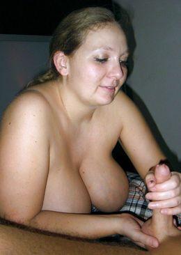 BBW women doing handjob and cum in..