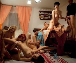 Hot amateur orgies with slutty women..