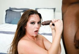 Throated.com shows how black cock..
