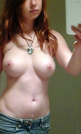 Home photo of young naked boobs and..