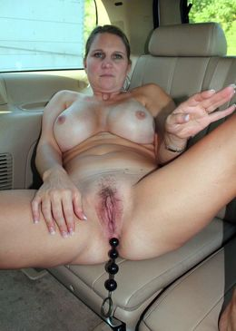 Middle-aged car whores undress and rub..