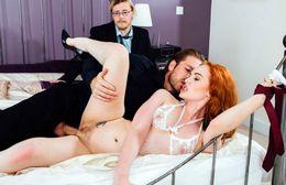 Redhead babe Ella Hughes - Cuckold..