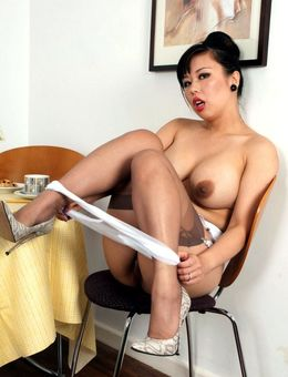 Asian mature secretary Tigerr gets..