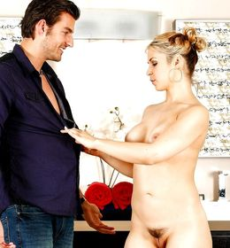 Busty babe masseuse Sarah Vandella..