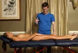 Janice Griffith in erotic massage
