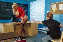 Summer school porn scene with..