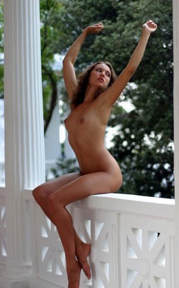 Naked vacation model from..