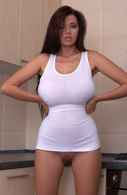 Magnificent big titted Sha Rizel..