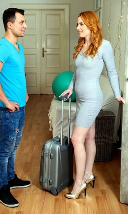 Hot redhead Michelle Russo seduces..