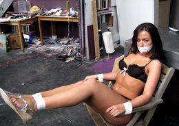 Amateur girlfriends get gagged and..